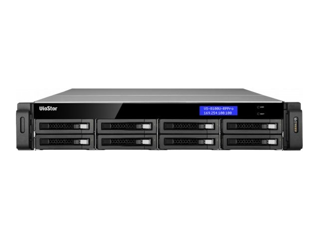 Qnap 8-Bay NVR 32-Channel Surveillance Appliance, VS-8132U-RP-PRO-US, 14036047, Video Capture Hardware