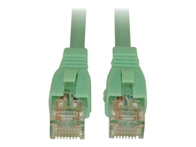 Tripp Lite Augmented Cat6 (Cat6a) Snagless 10G Certified Patch Cable, Aqua, 5ft, N261-005-AQ