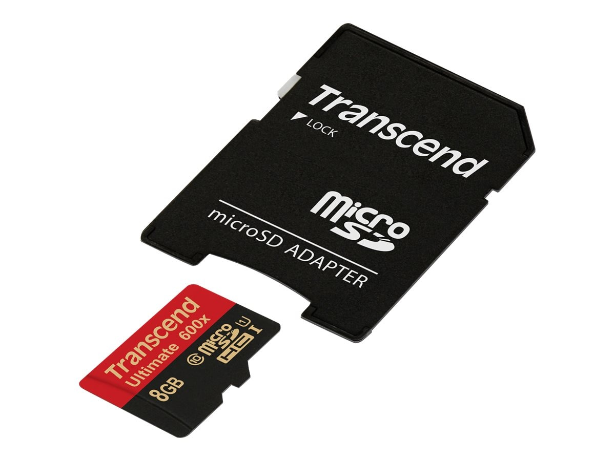 Transcend Information TS8GUSDHC10U1 Image 2