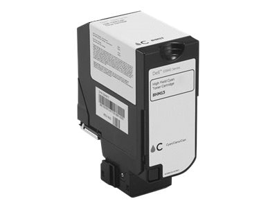 Dell 6000-Page Cyan Use & Return Toner Cartridge for S5840