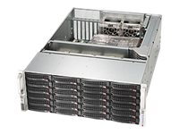 Supermicro SuperChassis 846BA 4U RM (2x)Intel AMD 24x3.5 HS Bays 7xExpansion Slots 5xFans 2x1280W