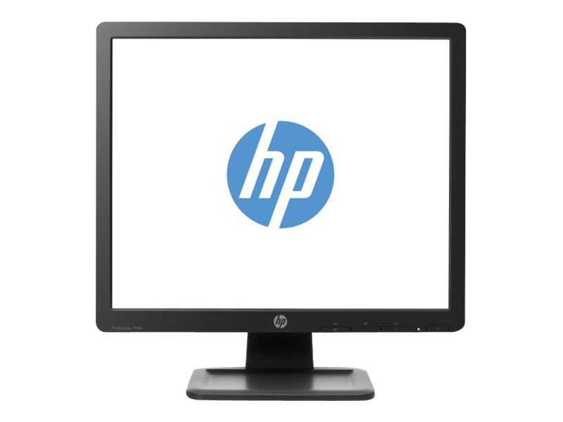 HP 19 P19A LED-LCD Monitor, Black