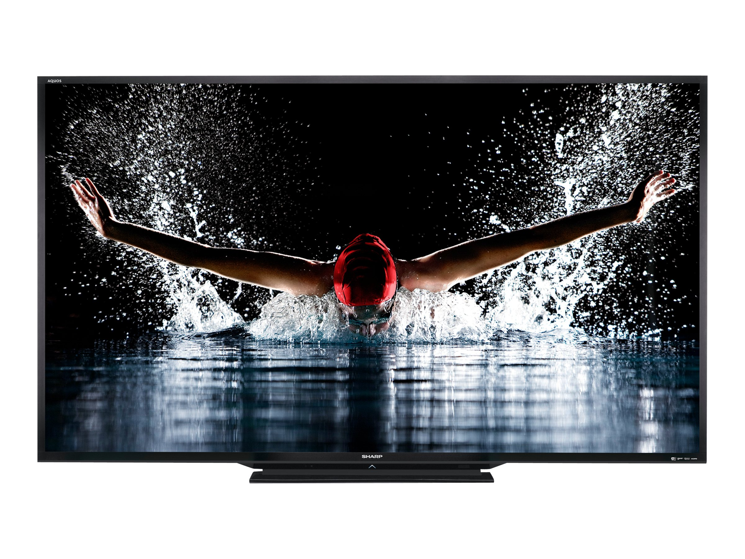 Sharp 90 LC90LE657U Full HD LED-LCD 3D TV, Black