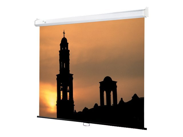 Draper Luma 2 Projection Screen, Matte White, 16:9, 133