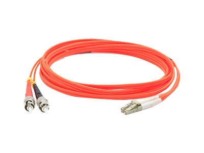 ACP-EP ST-LC 62.5 125 OM1 Multimode LSZH Duplex Fiber Cable, Orange, 1m, ADD-ST-LC-1M6MMF