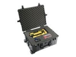 Pelican 1610 Wheeled Case with Foam, Black, 1610-020-110, 11884753, Carrying Cases - Other