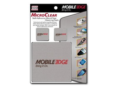 Mobile Edge MicroClear Self-Adhesive Cleaning Tab, 3-Pack, MEAMC3, 7736441, Cleaning Supplies