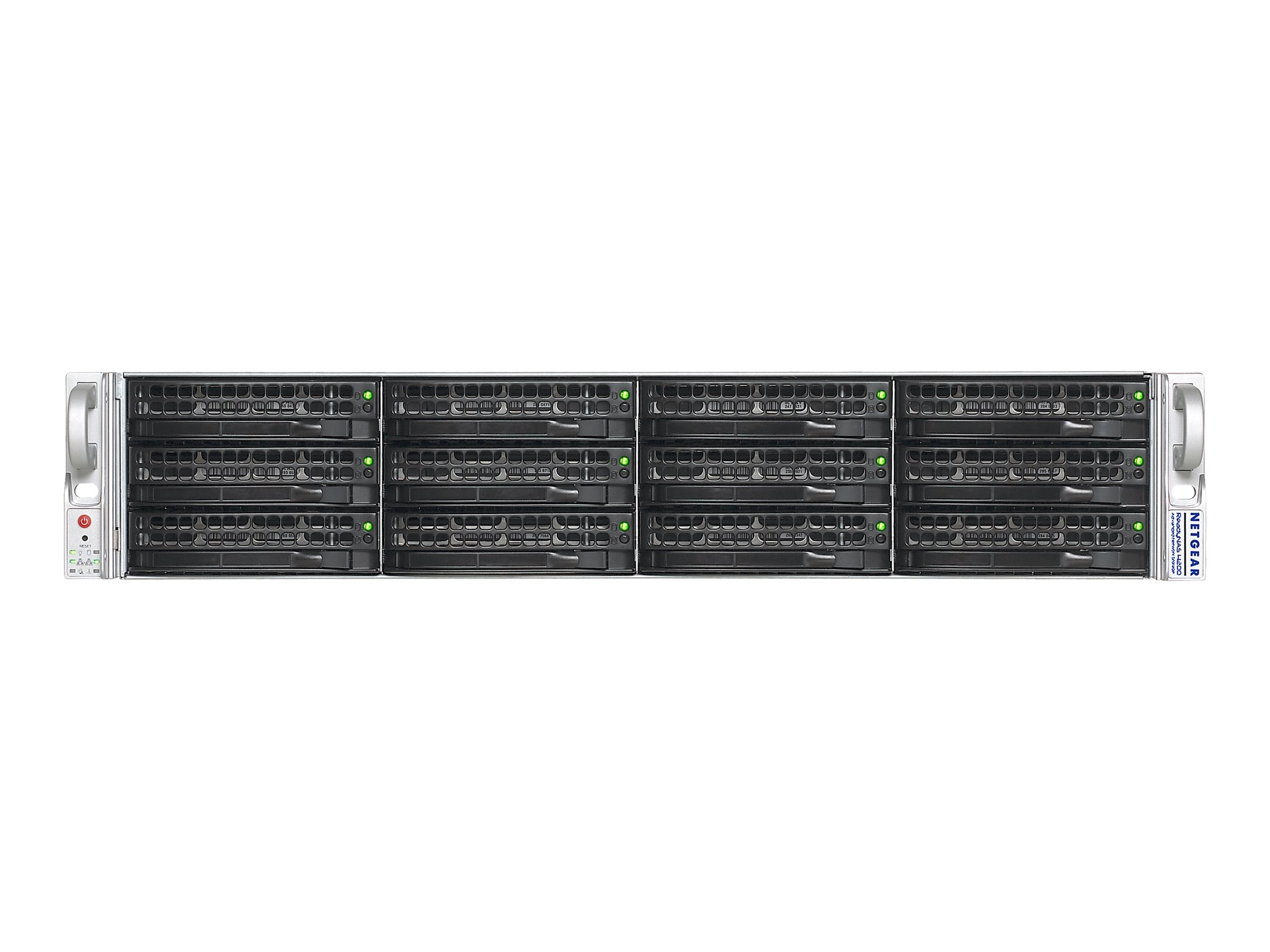 Netgear 12TB ReadyNAS 4200 Network Storage System w  10GbE, RN12G0620-100NAS, 11234849, Network Attached Storage