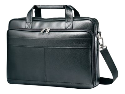Stephen Gould Leather Slim Briefcase Fits +15.6