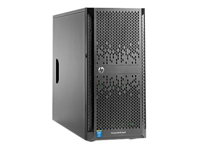 HPE Smart Buy ProLiant ML150 Gen9 Tower Xeon 6C E5-2620 v3 2.4GHz 8GB 4x3.5 NHP Bays B140i 2xGbE 900W, 844934-S01, 30951659, Servers