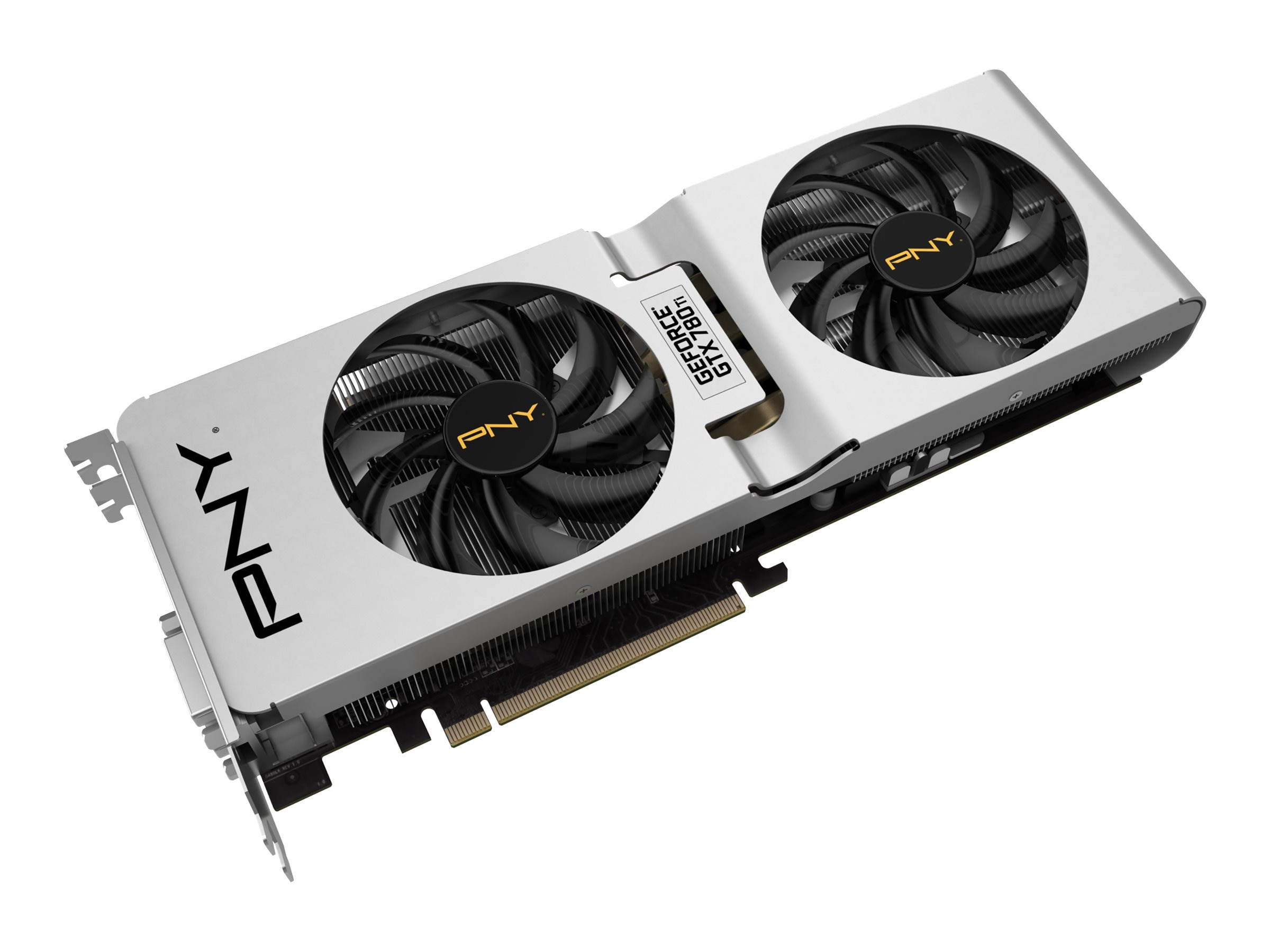 PNY GeForce GTX 780 Ti PCIe 3.0 Overclocked Custom Cooled Graphics Card, 3GB GDDR5, VCGGTX780T3XPB-CC-OC