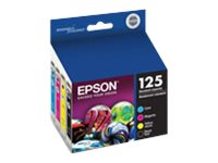 Epson 125 Combo-Pack Ink Cartridges