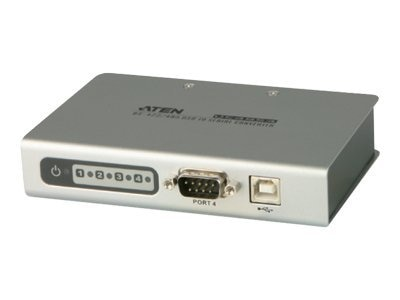 Aten 4PORT USB TO SERIAL RS-232 HUB PERP