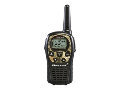 Midland Radio GMRS 22-Channel Outfitters, 24-Mile, LXT535VP3