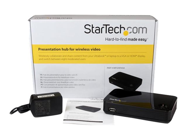 StarTech.com 1080p Wireless Presentation System, WIFI2HDVGA
