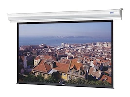 Da-Lite Contour Electrol Projection Screen, Matte White, 16:10, 113, 37570LS, 15961461, Projector Screens