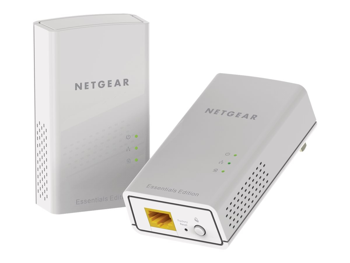 Netgear Powerline 1000 Essentials Edition, PL1010-100PAS, 31056859, Network Starter Kits