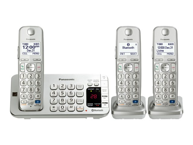 Panasonic Link2Cell BT Cordless Phone w  Answering Machine