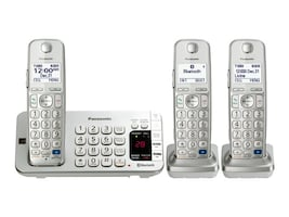 Panasonic Link2Cell BT Cordless Phone w  Answering Machine, KX-TGE273S, 17719169, Telephones - Consumer