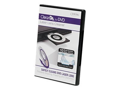 Digital Innovations Clear DR Laser Lens Cleaner for DVD CD, 4190200, 12456654, Cleaning Supplies