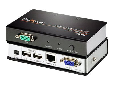 Aten USB CAT5 Console Extender up to 500ft, CE700A, 11008446, KVM Displays & Accessories