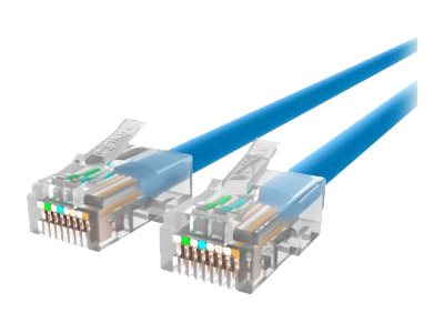 Belkin Cat5e Non-Booted UTP Patch Cable, Blue, 1ft