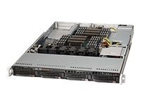 Supermicro Barebone, E5-2600 Series, X9DRW-IF, 4x3.5