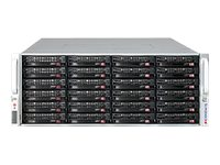 Supermicro Chassis, SuperChassis 847A 4U RM E-ATX WIO (2x)Intel AMD Family 36x3.5 HS Bays 2x1280W, Black, CSE-847A-R1K28WB, 19508162, Cases - Systems/Servers
