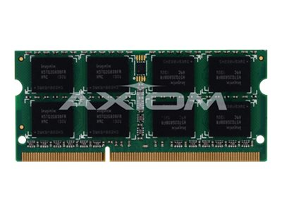 Axiom 4GB PC3-8500 DDR3 SDRAM SODIMM for Select ThinkCentre, ThinkPad Models, 51J0493-AX