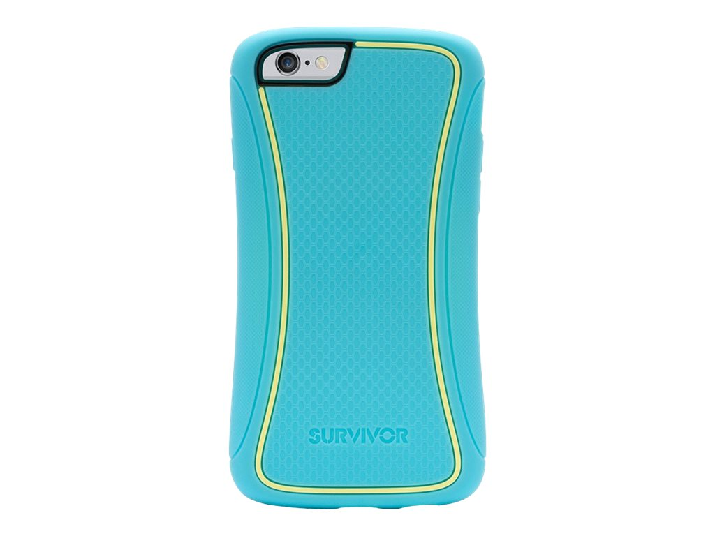 Griffin Survivor Slim iPhone 6 4.7, Turquoise, GB39819, 17700812, Carrying Cases - Phones/PDAs