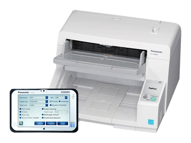 Panasonic KV-S5046H Scanner with Network Solution Tablet, KV-S546M100