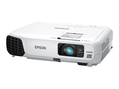 Epson PowerLite Home Cinema 725HD 3LCD Projector, 2800 Lumens, White, V11H566020, 16251390, Projectors