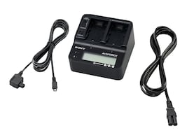 Sony AC Adapter Battery Charger for V, H, P Series Batteries, ACVQV10, 11007321, Battery Chargers