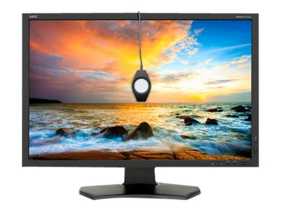 NEC 24 P242W LED-LCD Monitor with SpectraView II, P242W-BK-SV, 15562356, Monitors - LED-LCD