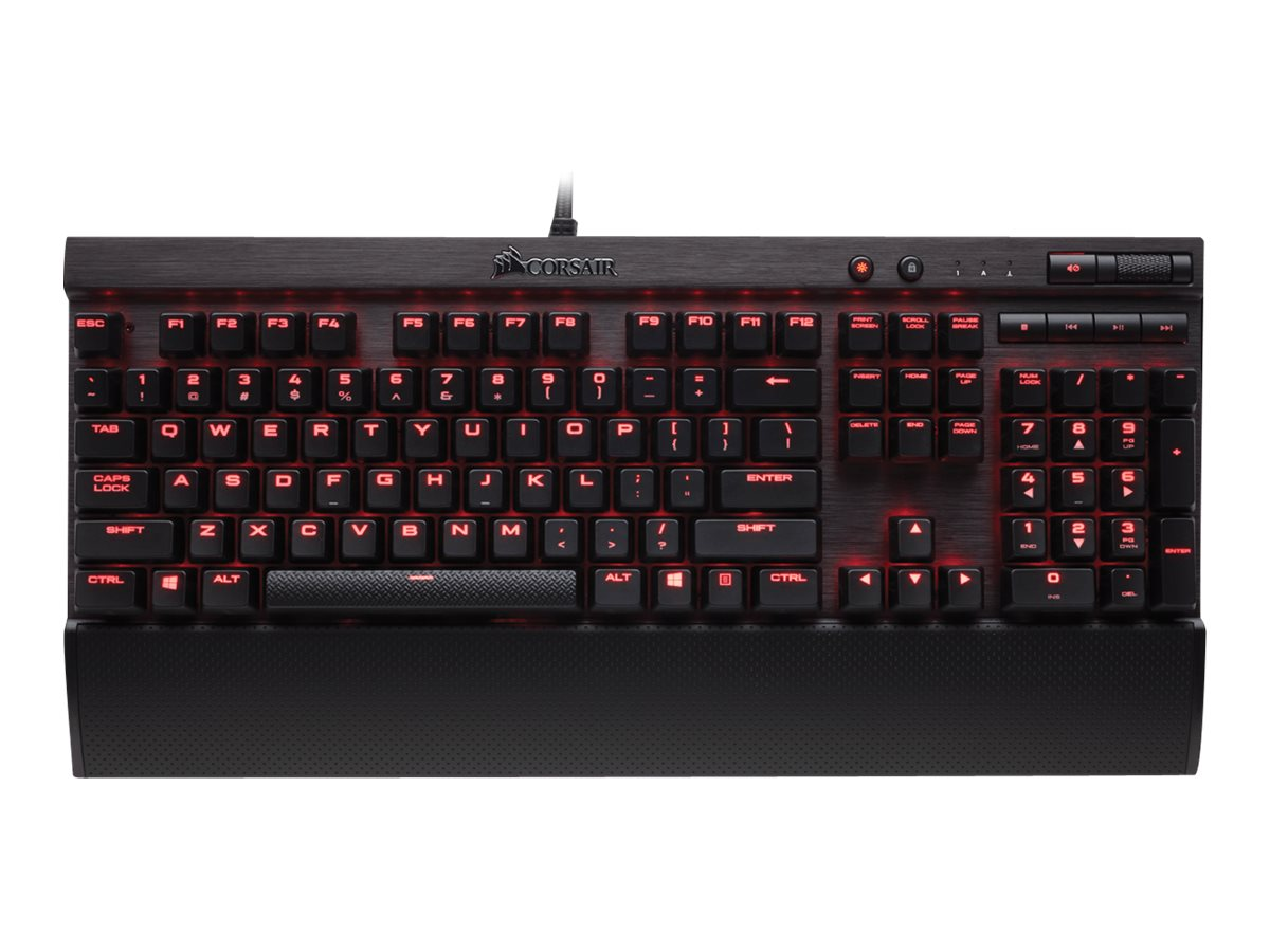 Corsair Gaming K70 RapidFire Keyboard Cherry, CH-9101024-NA