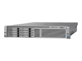Cisco Barebones, UCS C240 M4 8xSFF without CPU, Memory, HDD, SSD, PCIe, Rail Kit or PSU, UCSC-C240-M4S, 17906538, Barebones Systems