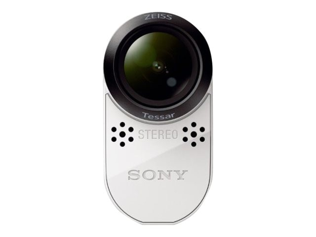 Sony Splashproof POV Action Cam, HDRAS100VR/W