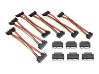 Aleratec MicroSATA to SATA Adapter, 6-Pack, 350122, 15027311, Adapters & Port Converters