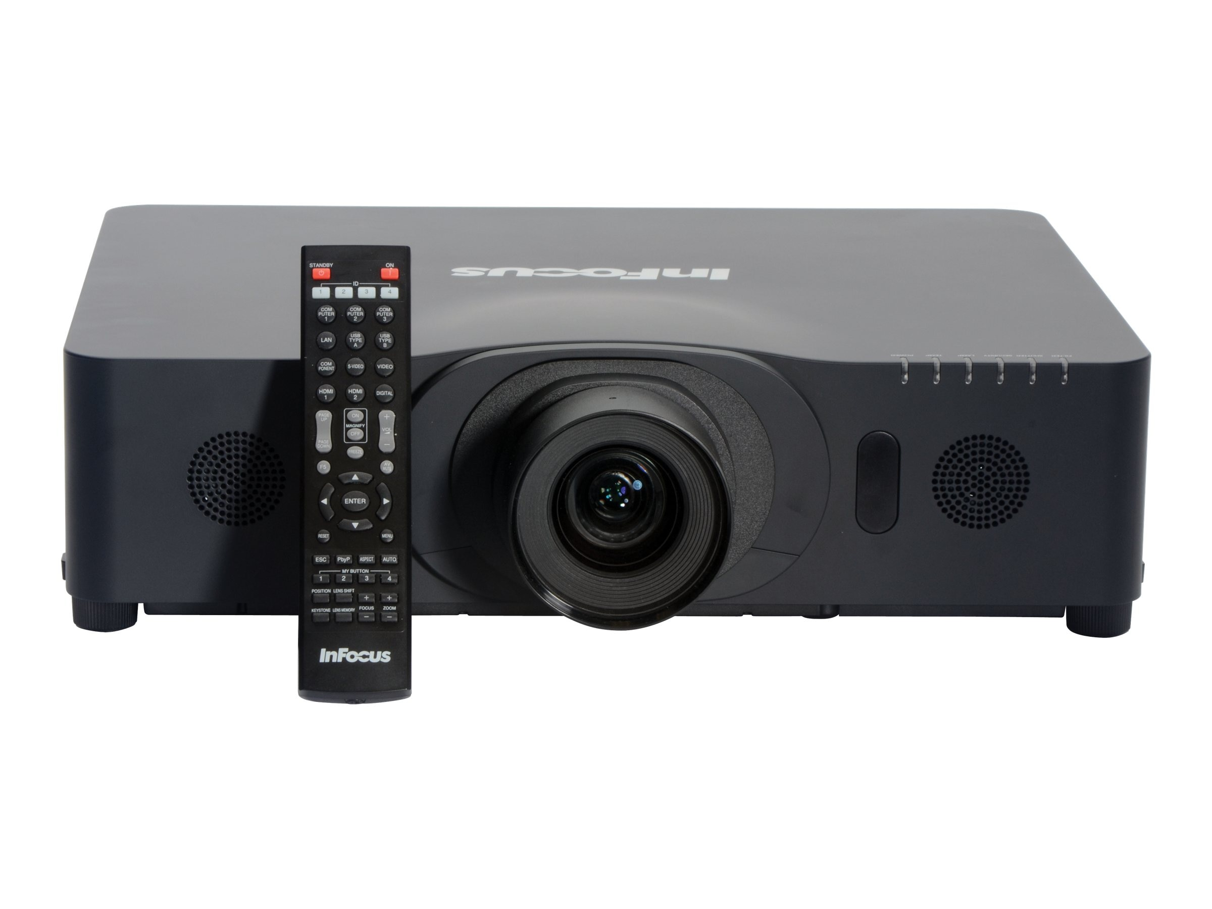 InFocus IN5134 WXGA LCD Projector, 4000 Lumens, Black, IN5134