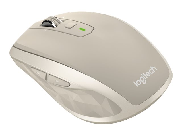 Logitech MX Anywhere 2 Wireless Mouse, Stone, 910-004968