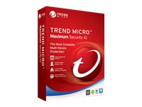 Trend Micro MAXIMUM SECURITY 2016 1U RETAILCROMBOX, TINM0143, 30839325, Software - Network Management