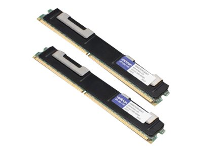 ACP-EP 8GB PC2-5300 240-pin DDR2 SDRAM RDIMM Kit, AM667D2R5/8GKIT