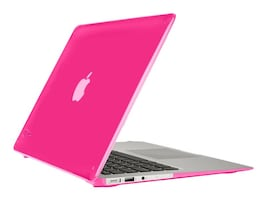 Speck SeeThru Case for MacBook Air 13, Hot Lips Pink, 71480-B198, 32158574, Carrying Cases - Notebook