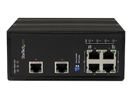 StarTech.com 6-Port Unmanaged Industrial Gigabit Ethenet Switch w 4 PoE+ Ports, IES61002POE, 16765526, Network Switches