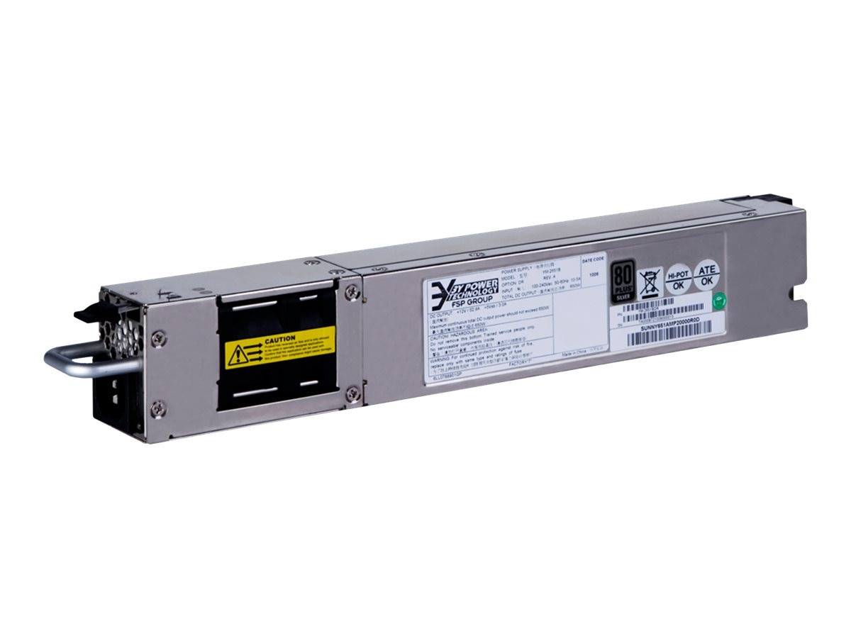 HPE A58x0AF Back (Power Side) to Front (Port Side) Airflow 300W AC Power Supply, JG900A#ABA, 17745332, Power Supply Units (internal)