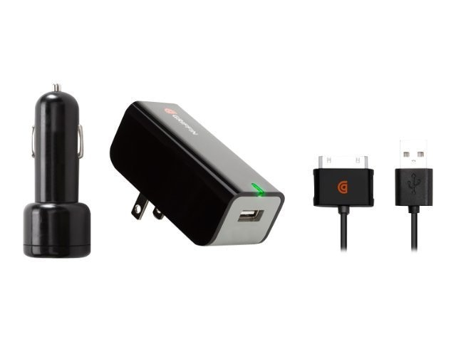 Griffin PowerDuo for iPad iPhone iPod, NA23093, 11470606, AC Power Adapters (external)