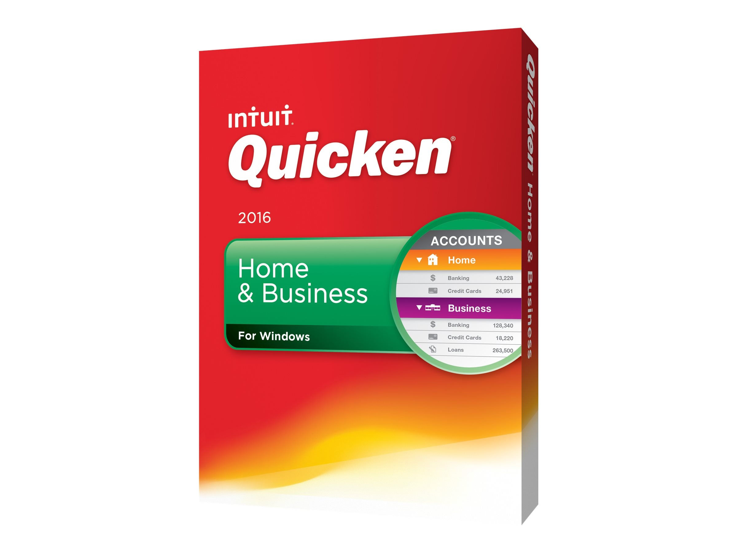 Intuit Quicken 2016 Home & Business, 426750, 31425888, Software - Financial