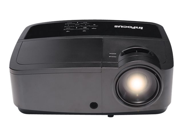 InFocus IN114x XGA 3D DLP Projector, 3200 Lumens, Black, IN114X