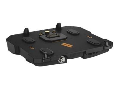 Havis Dock with PS and Triple Pass-Thru for Latitude 12 14 Rugged, DS-DELL-404