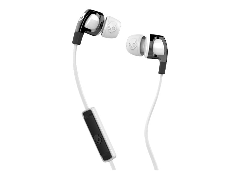Skullcandy Smokin' Buds 2 Earbuds - Black White White, S2PGFY-328, 23407399, Headsets (w/ microphone)